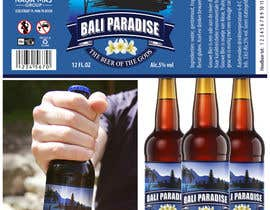 "hanspulvian tarafından Create a label for a beer brand called ""Bali Paradise"" with the sub-title ""The Beer of the Gods"" için no 16"