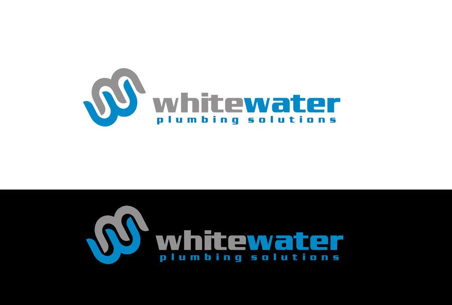#63 for Design a Logo for White Water Plumbing by Sehban96
