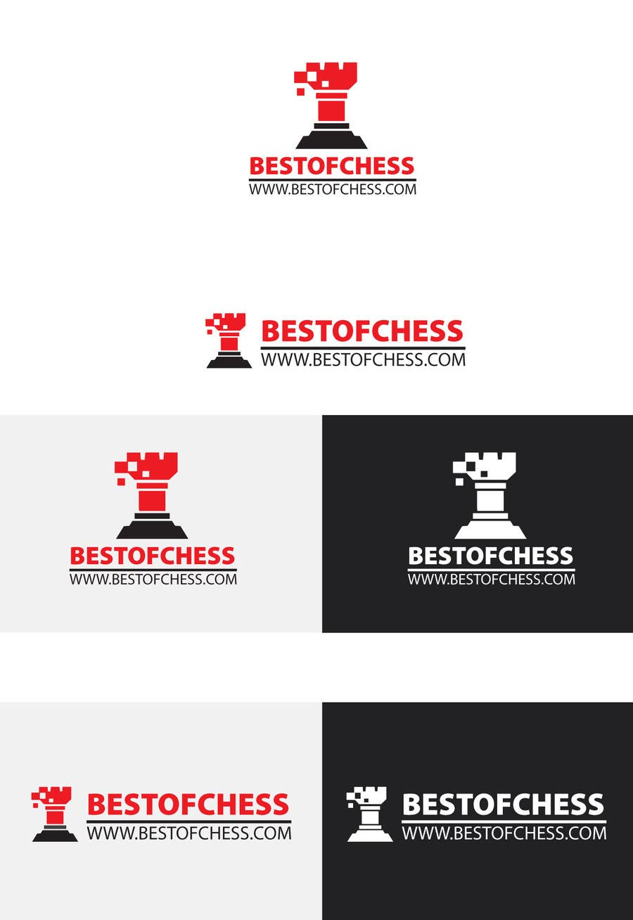 #73 for Design a Logo for a Chess website by uhassan