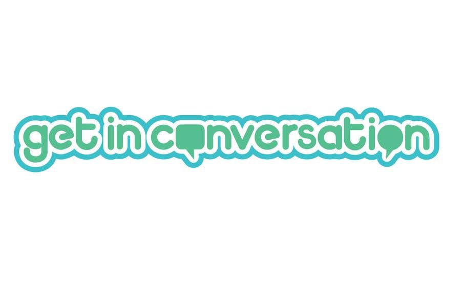Logo- Get in Conversation! için 101 numaralı Yarışma Girdisi