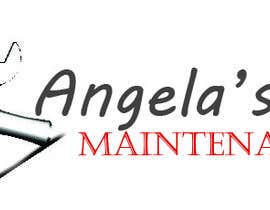 ShaMiat tarafından Design a logo for Angela's office maintenance için no 7