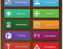 Nro 11 kilpailuun Design some Icons for our app käyttäjältä ltsharma