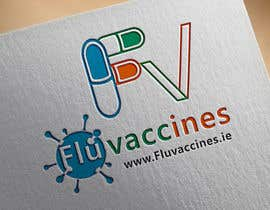 """Nro 19 kilpailuun Logo Design - """"fluvaccines.ie"""" käyttäjältä islam1101"""