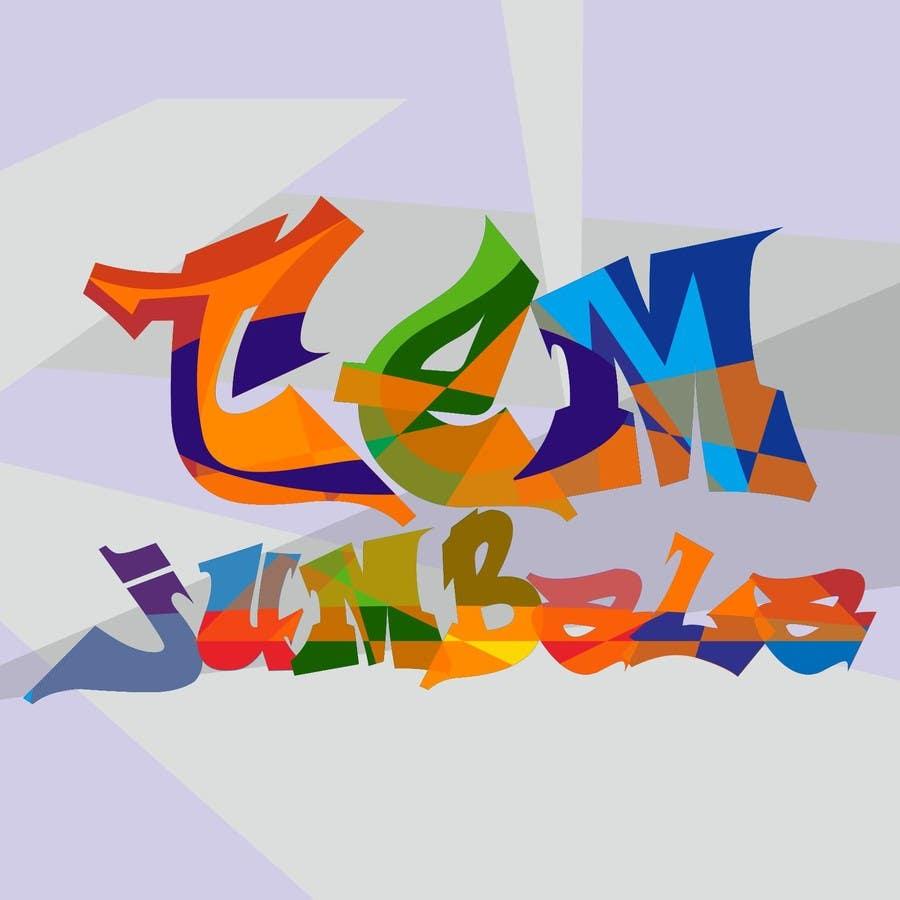 "Kilpailutyö #15 kilpailussa Design for Logo for the word ""Tem Jumbala"""