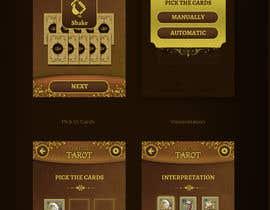 aliasgar6311 tarafından Design a tarot App Mockup için no 11