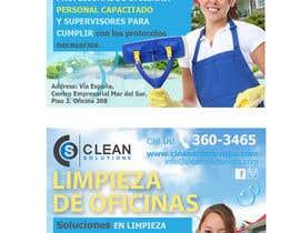 Nro 14 kilpailuun Design a Banner - Cleaning Company käyttäjältä jassna