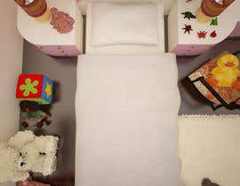 #26 for Create a small, easy and very simple girls bedroom scene by olsiad