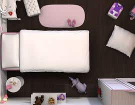 redlampdesign tarafından Create a small, easy and very simple girls bedroom scene için no 30