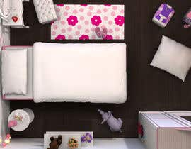 #37 cho Create a small, easy and very simple girls bedroom scene bởi redlampdesign