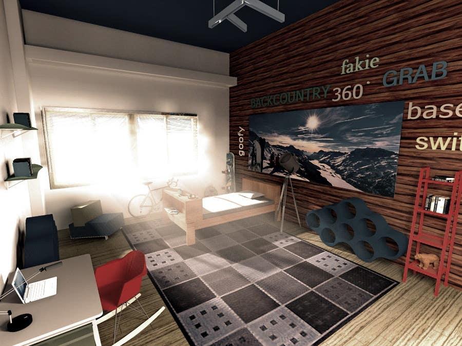 Entrada de concurso de 3D Rendering #19 para Design Realistic Room