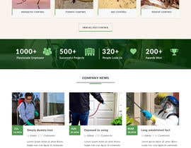 Nro 5 kilpailuun Homepage Design Mockup käyttäjältä webmastersud