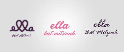 #9 for Design a Logo for my daughter's bat mitzvah by aash1010