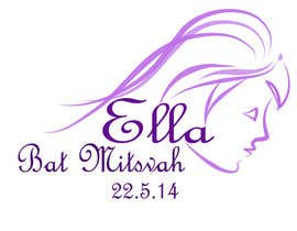 nº 26 pour Design a Logo for my daughter's bat mitzvah par malathy27