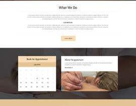 bestwebthemes tarafından Design a Website Mockup For an Acupuncture Clinic için no 17