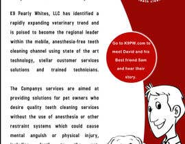 #30 untuk Flyer Design for K9 Pearly Whites [K9PW.com] oleh armanlim