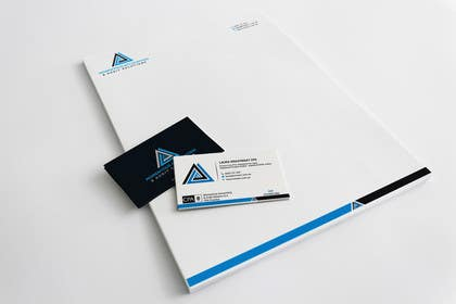 Image of                             Business card & letterhead desig...