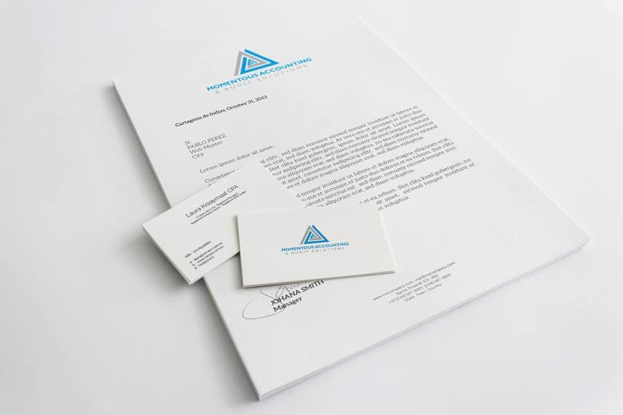 Kilpailutyö #34 kilpailussa Business card & letterhead design - existing logo