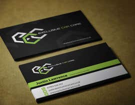 #59 para Design some Business Cards for Exclusive Car Care por mamun313