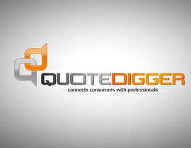 #207 для Logo Design for Quotedigger от greatdesign83