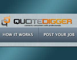#214 для Logo Design for Quotedigger от greatdesign83
