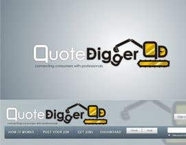#238 for Logo Design for Quotedigger by JoeMista