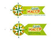 "Graphic Design Kilpailutyö #184 kilpailuun Logo Design for company named ""HACCP Guide"""