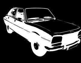 #3 for Design a Peugeot 504 T-Shirt 2 by pdshermila