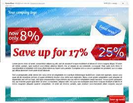 Nro 4 kilpailuun Design email campaign käyttäjältä webupstudio1
