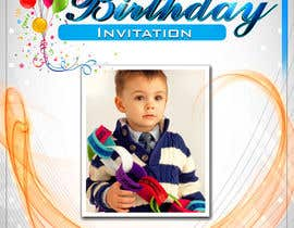 #8 para Birthday Invitation Card - timeframe 1 day! por majasdigital