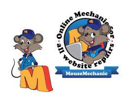 #12 para Design a Logo for Mouse Mechanic por howthesun