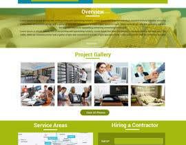 Nro 2 kilpailuun Design A Webpage Mockup käyttäjältä Webicules