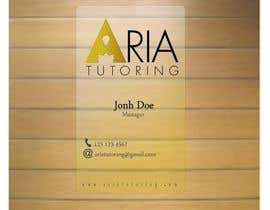 #28 for Need Someone to Design a Classy Business Cards for my Tutoring Comany by carlaamsilva
