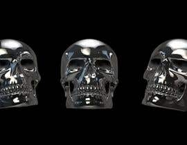 artseba185 tarafından 3D silver skull için no 10