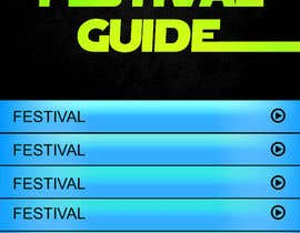 nº 14 pour Graphic Design for Music Festival Guide (iPhone Application) par jagadeeshrk