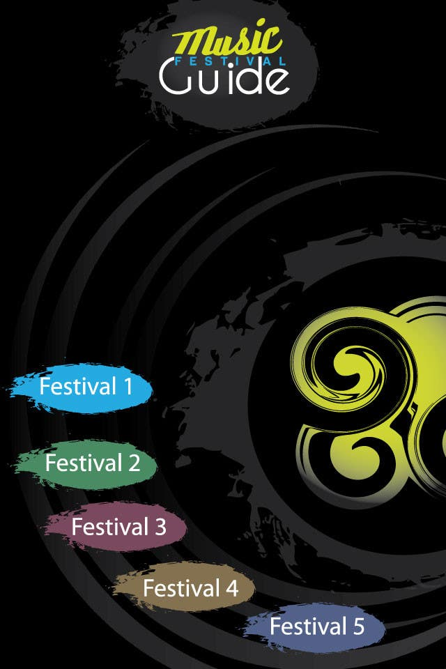 Photography Contest Entry #4 for Graphic Design for Music Festival Guide (iPhone Application)
