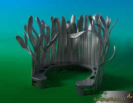Nro 5 kilpailuun Create 3D drawing from hand sketch of proposed sculpture käyttäjältä ScoutingNinja3rd