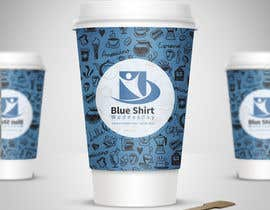 #2 for Design a label (print) for a disposable coffee cup by carethv26