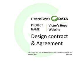 #21 para Design some Stationery for a Proposal Agreement por conficash