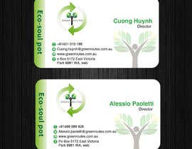 #38 for Design some Business Cards green routes by AllGraphicsMaker