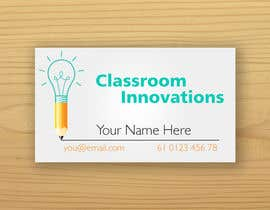 #17 for Design some Business Cards for Classroom Innovations af vladimirgiurgiu