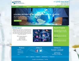 nº 13 pour Build a Website for AEONSurgical par karlmc15