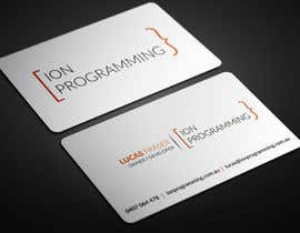 atikul4you tarafından Design Business Cards for Ion Programming için no 84