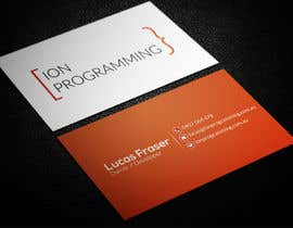 smartghart tarafından Design Business Cards for Ion Programming için no 54