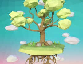 eldesoki tarafından 3D Low Poly Landscape with a nice Tree için no 23