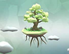 doniariadi tarafından 3D Low Poly Landscape with a nice Tree için no 15