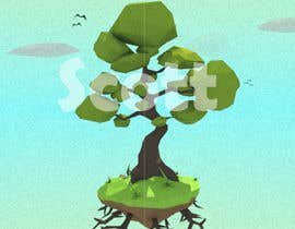 ScottContina tarafından 3D Low Poly Landscape with a nice Tree için no 14