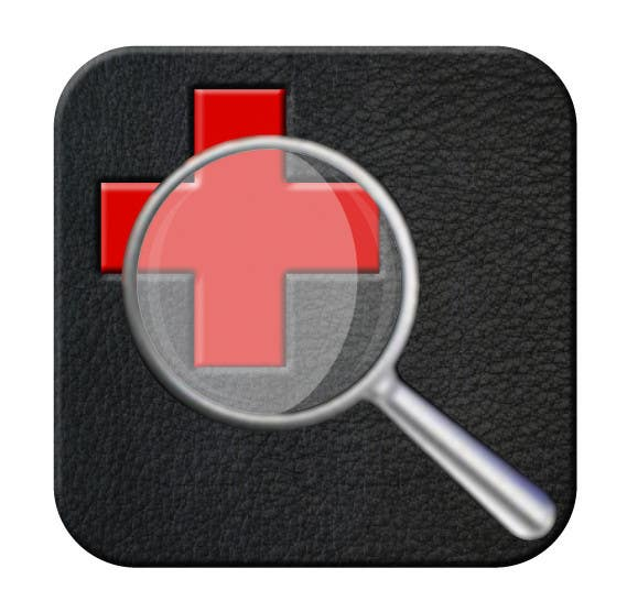 Contest Entry #                                        100                                      for                                         Add detail to existing icon for iOS app: MBS Search