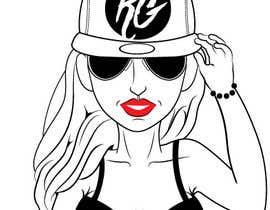 #40 for Create Illustration Outline of Girl in Bikini by Bateriacrist