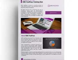 Nro 30 kilpailuun Design a Brochure (2 pages) käyttäjältä stylishwork