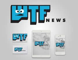 Nro 20 kilpailuun Design a logofor WTF News käyttäjältä robotofry
